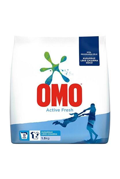 Omo Omo Active Fresh Beyazlar için Toz Çamaşır Deterjanı 1.5 Kg