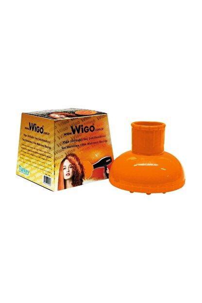 Johnson Wigo Saç Kurutma Fön Makinesi Başlığı Turuncu (Difüzör / Vigo