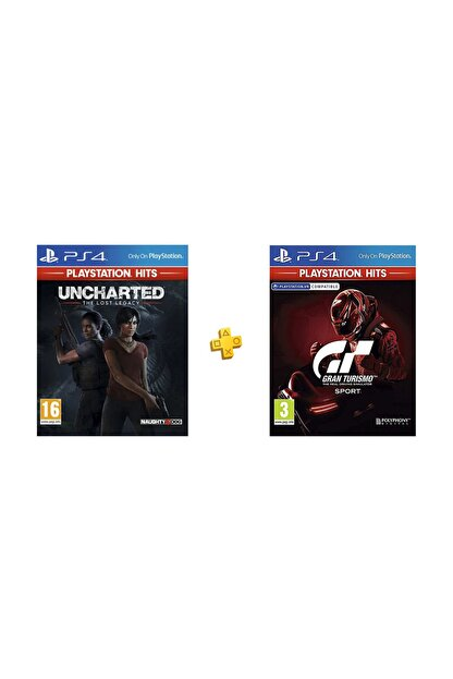 Sony Uncharted Kayıp Miras PS4 + Gran Turismo Sport PS4 Paketi