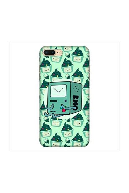cupcase Iphone 8 Plus Kılıf Desenli Esnek Silikon Telefon Kabı Kapak - Suppercake