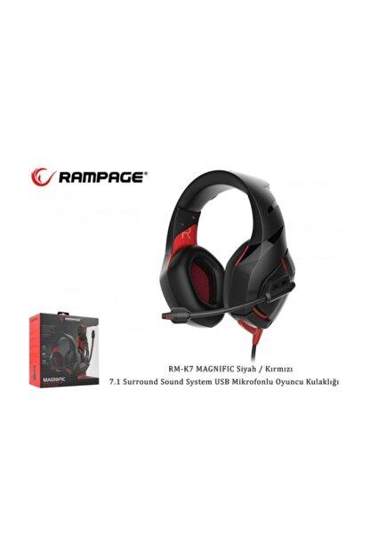 Rampage Rm-k7 Magnific Gaming Mik+kulaklık Usb 7+1