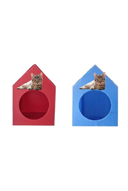 Mascot Kedi Evi Su Geçirmez - 2 Adet