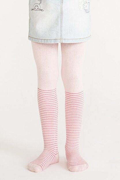 Penti Pembe Pretty Crystal Külotlu Çorap