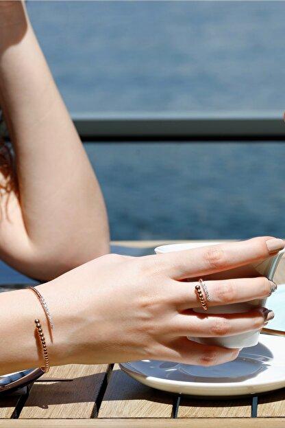 No 10 Jewelry Kadın Pırlanta Bileklik PBL4770