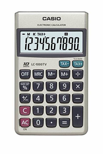 Casio Lc-1000Tv 10 Hane Cep Hesap Makinesi