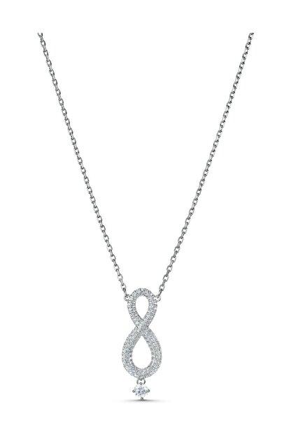 Swarovski Kolye Swa Infinity-necklace Lng Cry-czwh-rhs 5537966