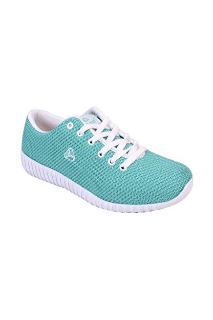 LETOON Bayan Spor Ayakkabı - Su Yeşili Renk