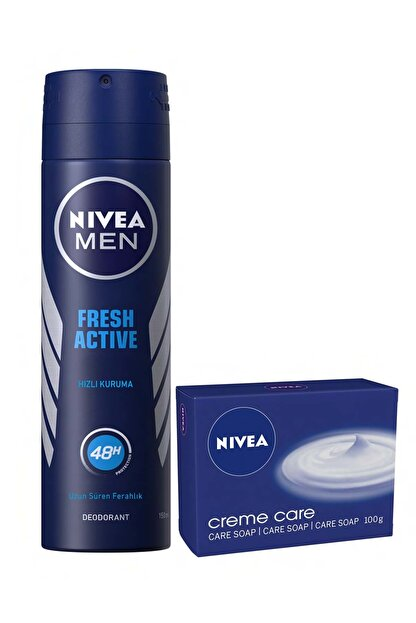 Nivea Fresh Erkek Sprey + Nıvea Sabun