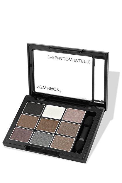 Newmacy 9'lu Göz Farı Paleti - 9 Colors Eyeshadow Palette 02 8681702001957