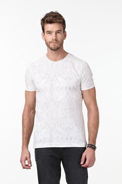 Ramsey Baskılı Örme T-Shirt - RP10106641