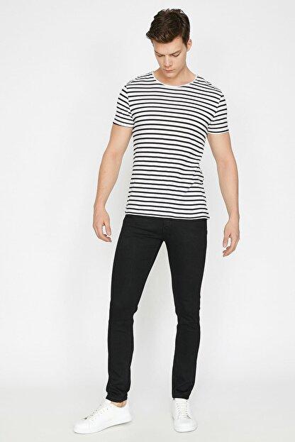 Koton Erkek Siyah Pantolon BSC