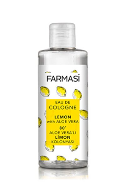 Farmasi Aloe Veralı Limon Kolonyası 225 ml 8690131103453
