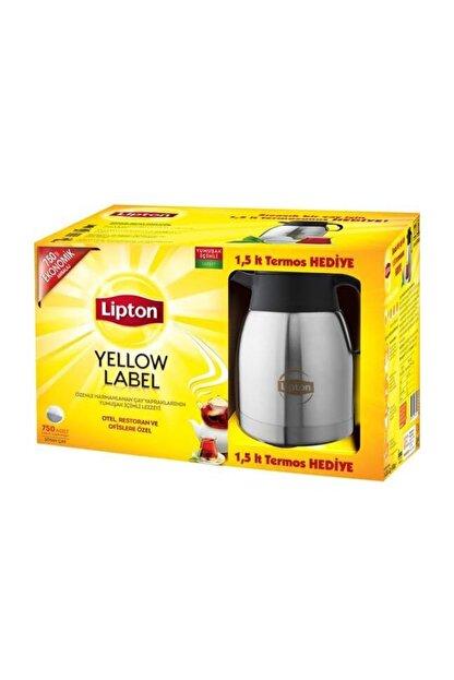 Lipton Yelllow Label Demlik Poşet 750 Adet & 1,5 lt Termos
