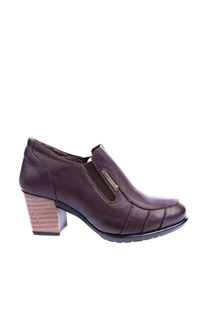 Mammamia Kahverengi Kadın Topuklu Ayakkabı