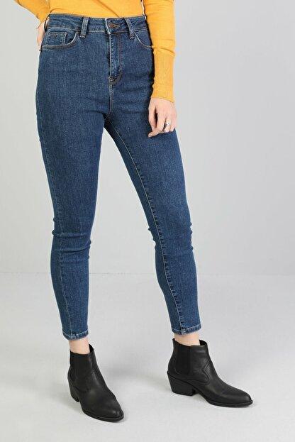 Colin's Koyu Mavi Kadın Pantolon CL1046126