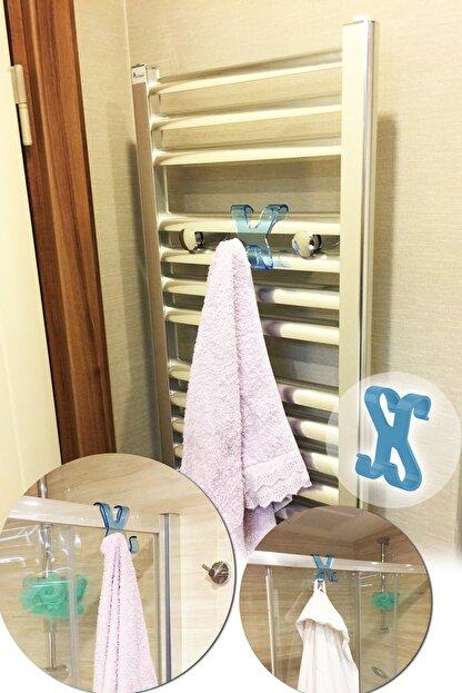 Helen's Home Plastik Havlupan Duşakabin Askısı Havlu Askılık