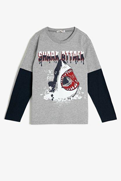 Koton Yazili Baskili T-Shirt