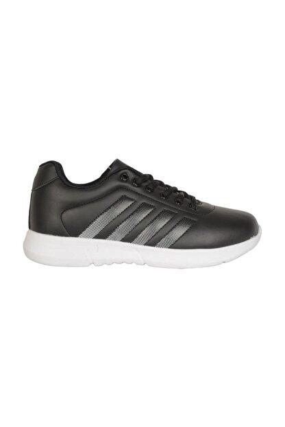 Cheta C047 Siyah-beyaz Günlük Yürüyüş Bayan Spor Ayakkabı