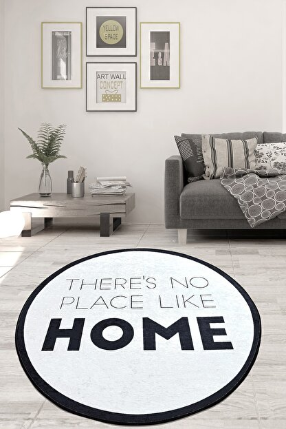 Chilai Home Like Home Djt Çap Kaymaz Taban Dekoratif Halı