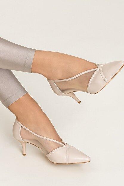 Elle MIKENNAA Bej Kadın Ayakkabı