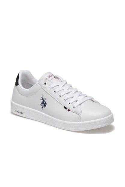 US Polo Assn U.s Polo Assn. Franco Beyaz Unisex Sneaker