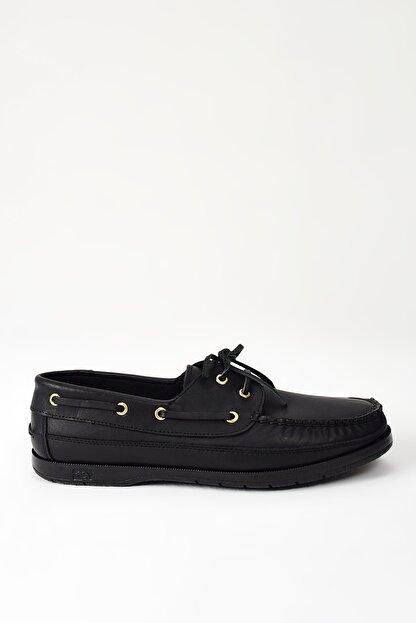 Ziya Hakiki Deri Siyah Erkek Ayakkabı 101119 29 1