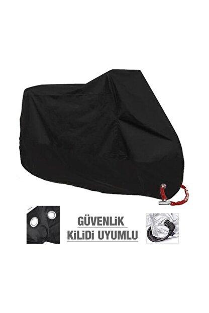 AutoEN Sport Gilera Nexus 250 ARKA ÇANTA UYUMLU Branda Motosiklet Brandası Siyah