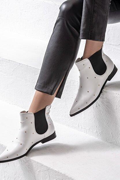 https www trendyol com elle shoes sheyne beyaz kadin bot p 31785119
