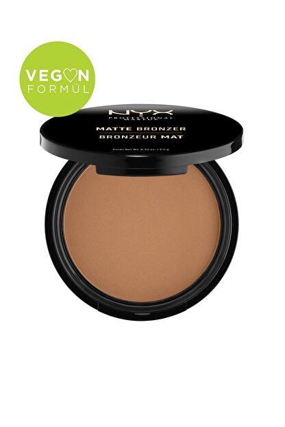 NYX Professional Makeup Mat Bronzer Koyu Ton - Matte Bronzer Deep Tan 59 g 800897809096