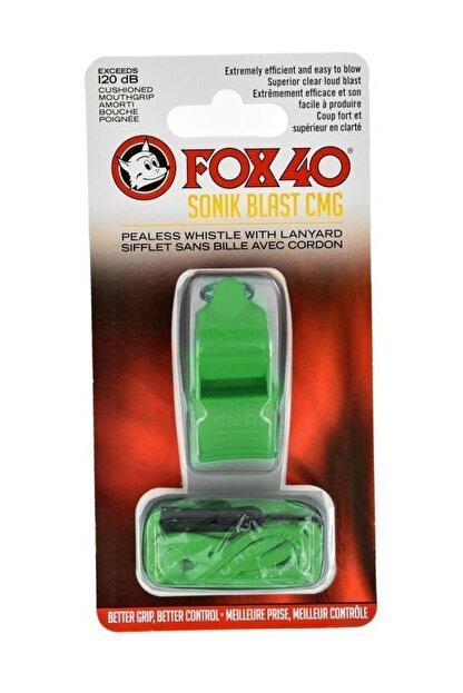 Fox 40 Unisex Sporcu Aksesuarları - Düdük 9203 0608 Düdük İpli Yesil - 9203 0608