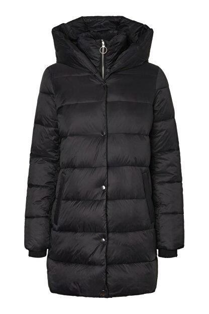 Vero Moda Kadın Siyah Uzun Mont 10217658 VMFORTUNE