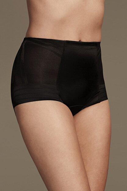 Marks & Spencer Kadın Siyah Yüksek Sıkılıkta Magicwear™ Low Leg Külot T33001510