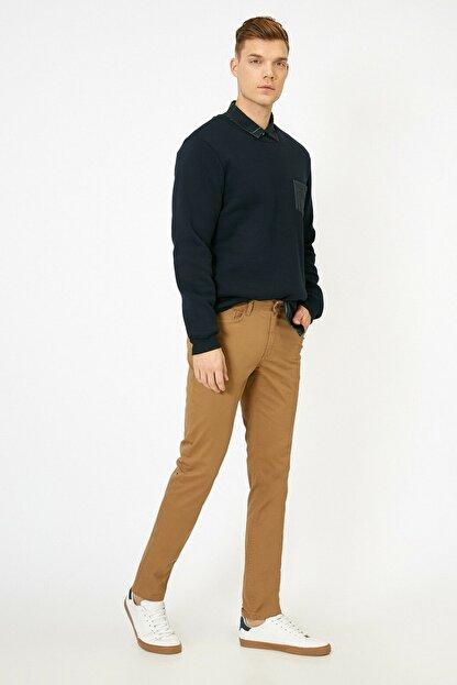 Koton Erkek Deve Tüyü Pantolon 0KAM42715BW