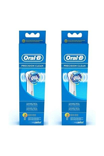 Braun Oral-b Precision Clean Diş Fırçası Yedeği 2'li X 2 Adet