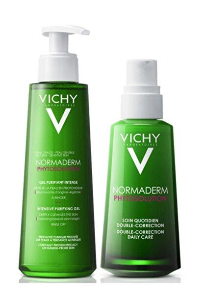 Vichy Normaderm Phytosolution Günlük Bakım Seti   Orijinal Boy Krem + Jel