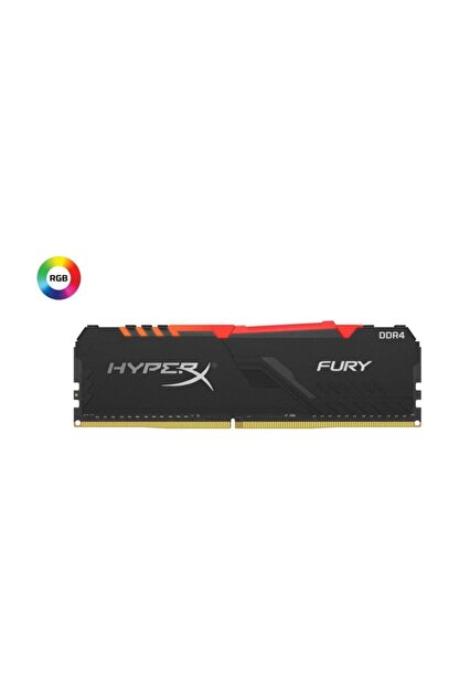 Kingston 16gb (2x8gb) 3200mhz Hyperx Fury Rgb Ddr4 Hx432c16fb3ak2/16