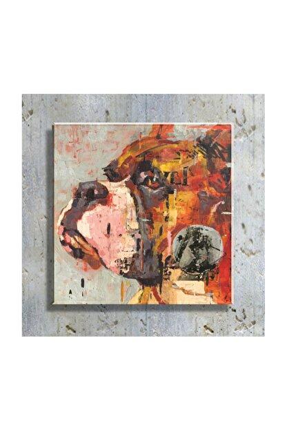mağazacım Anonim Köpek Portre Yağlı Boya Reprodüksiyon 50 Cm X 50 Cm Kanvas Tablo Tbl1060
