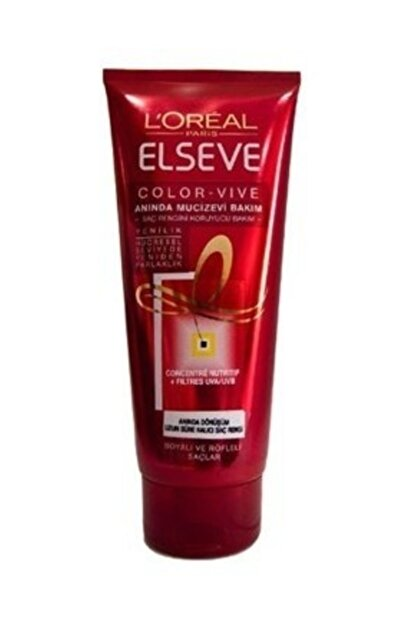 Elseve L'oréal Paris  Colorvive Instant Miracle Renk Koruyucu Saç Kremi 200 Ml