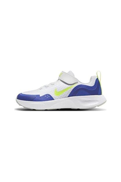 Nike Unisex Çocuk Beyaz Spor Ayakkabısı Cj3817-104 Wearallday