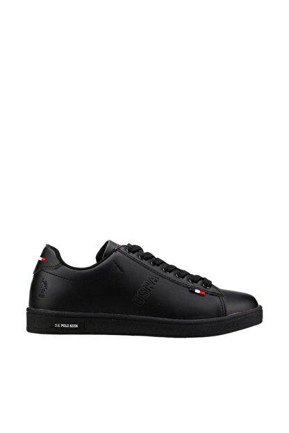 US Polo Assn Franco Siyah Kadın Sneaker Ayakkabı 100325581