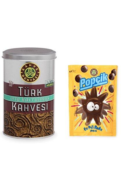 Kahve Dünyası 250 Gram Türk Kahvesi Ve Popçik Paketi