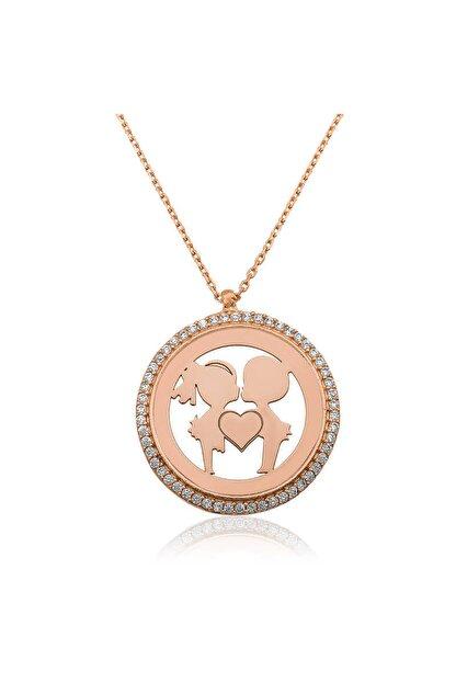 Ervanur Gümüş Aşıklar Kadın Kolye ENG11001280