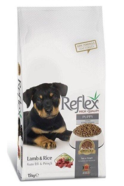 Reflex Kuzu Etli Pirinçli Yavru Köpek Maması 15 Kg
