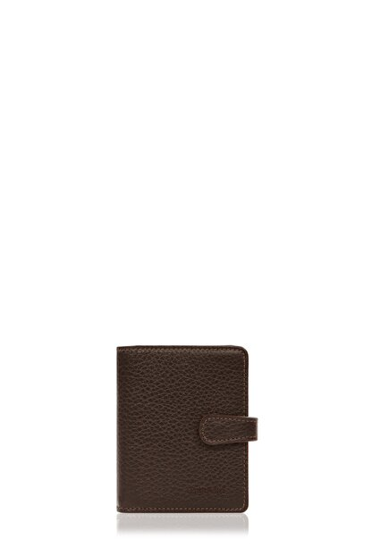 Cengiz Pakel Kahverengi Deri Kartlık 2427