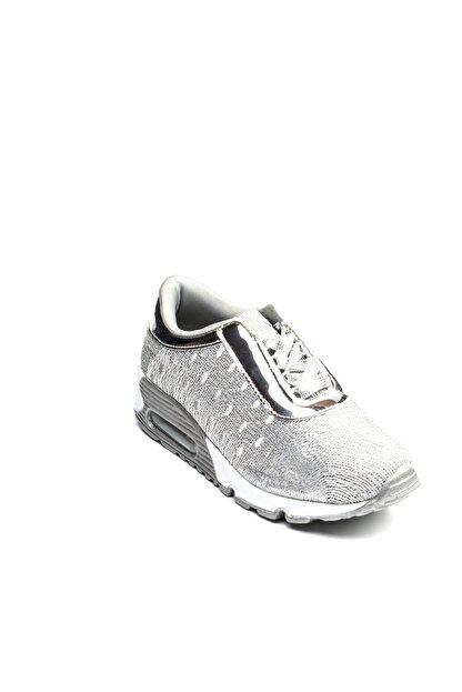 Guja Gümüş Rengi Kadın Yürüyüş Ayakkabısı 18YGUZ165G