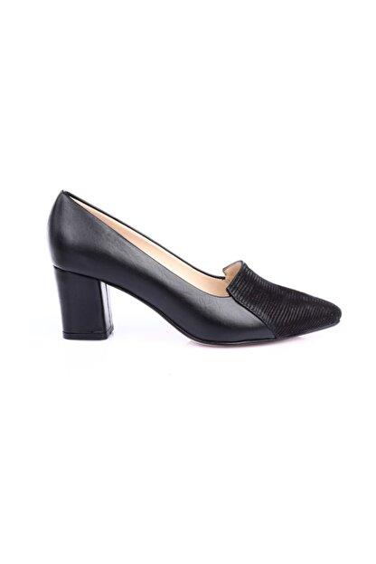 Dgn Siyah Kadın Ayakkabı