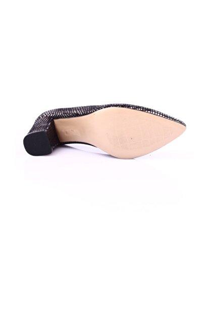 Dgn Çelik Petek Kadın Klasik Topuklu Ayakkabı