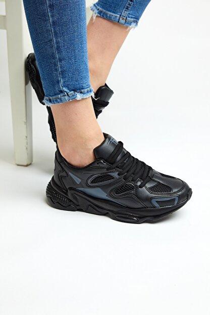 Tonny Black Siyah Unisex Sneaker TB252-0