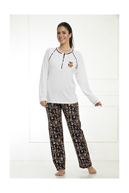 Etoile Cotton Uzun Kol Pijama Takımı