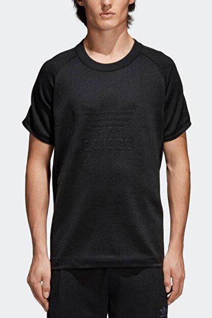 adidas Erkek T-Shirt - Knitted Trefoil Tee - CW1350